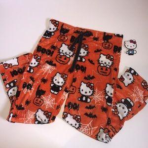Hello Kitty Halloween PJ pants